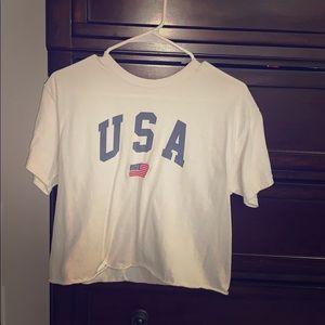 Brandy Melville USA cropped top!